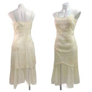 Sue Wong Nocturne Ivory Beaded Mermaid Dress